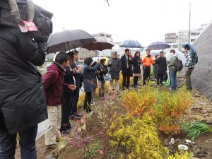 都市緑化研究会の小川副会長の説明