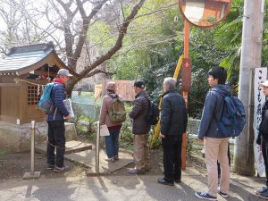 江田下宿の庚申塔