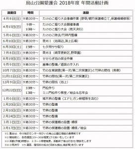 kayasuyamaActivityPlanFY2018