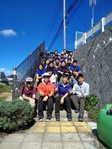 学生の記念写真