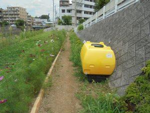 新しい貯水タンクを追加設置しました