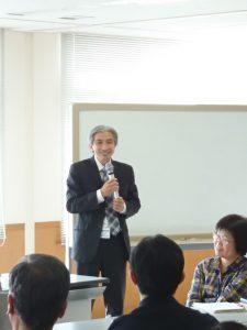 飯島教授の講評