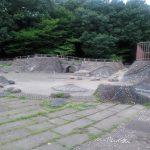 山崎公園プールの噴水の再開