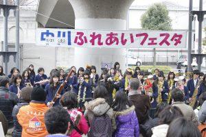 中川駅前のフェスタ