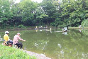山崎公園の池