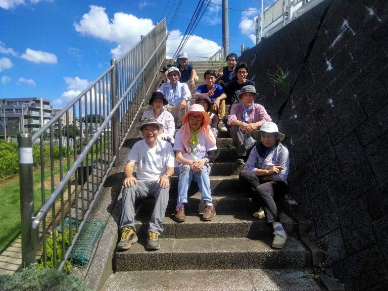 2019年9月 活動に参加した市民と学生