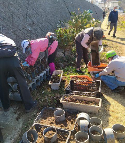 【HRG】2021年2月6日(土)春の草木の開花を目指して作業