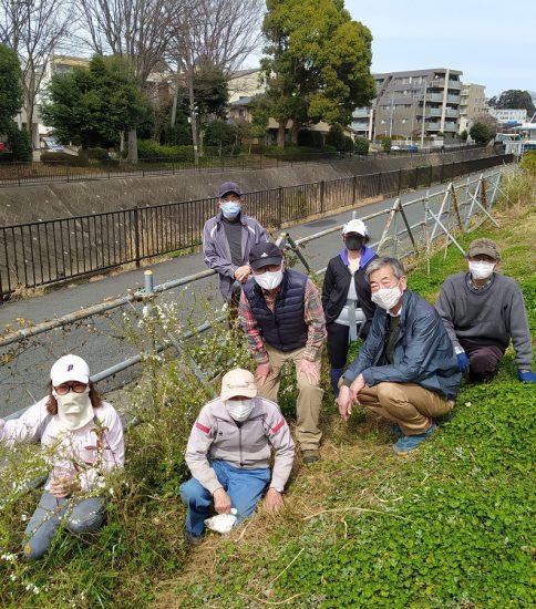 【HRG】2021年3月6日(土)多年草植え付けと見切りの竹交換