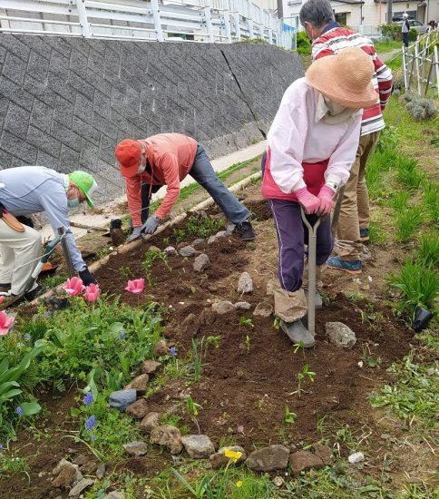 【HRG】2021年4月3日(土) 花に囲まれナチュラルガーデン作り